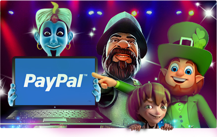 paypal - casino game characters