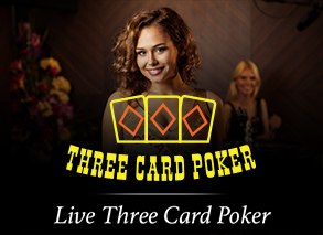 Live Three Cards Poker