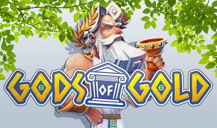 Gods of Gold Jackpot